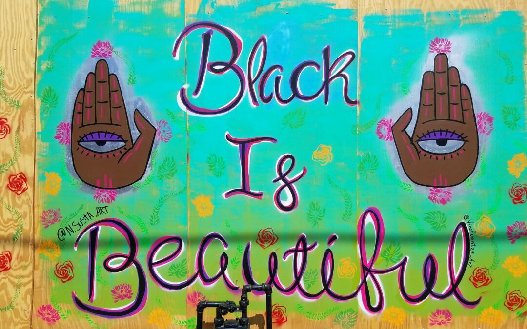 Black Is Beautiful Outdoor Mural