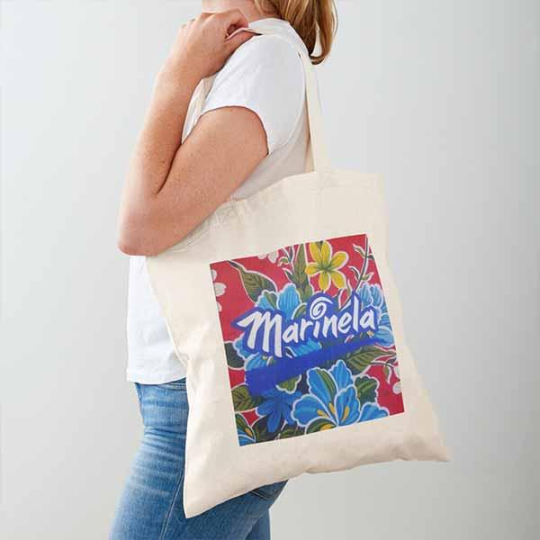 Marinela Cotton Tote Bag