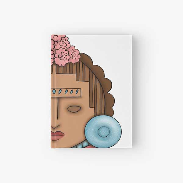 Frida Xochipilli Hardcover Journal