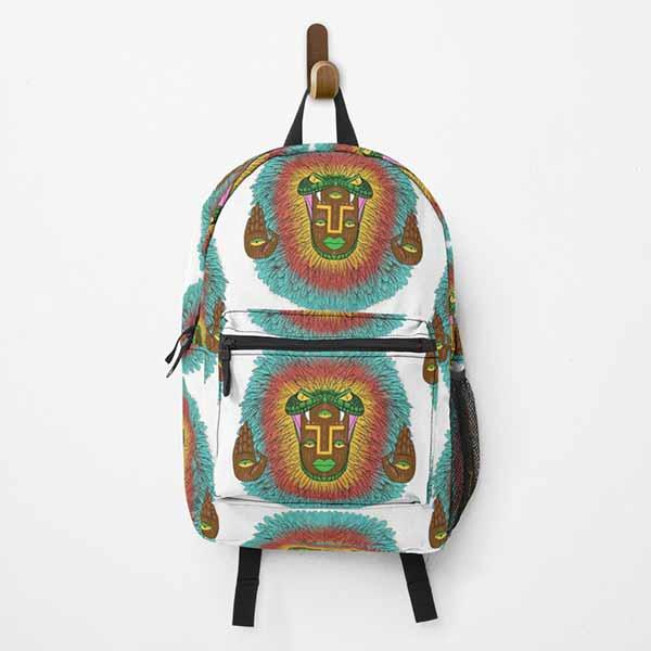 Third Eye Quetzalcoatl Backpack