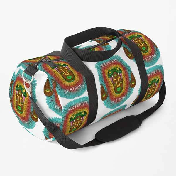 Third Eye Quetzalcoatl Duffle Bag