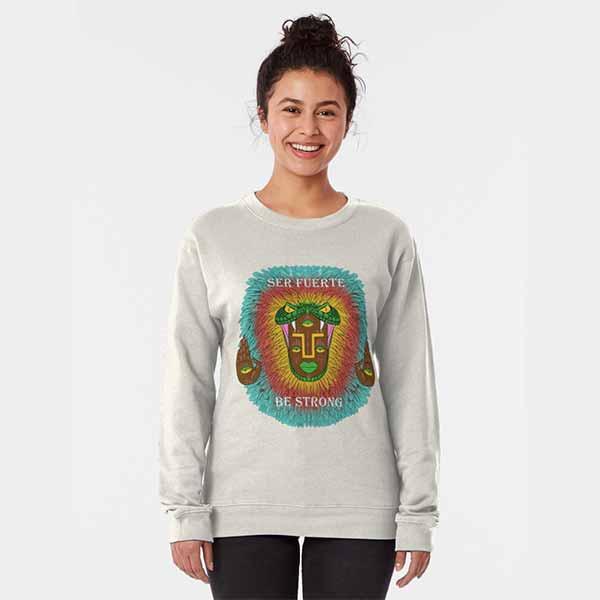 Third Eye Quetzalcoatl Pullover Sweatshirt