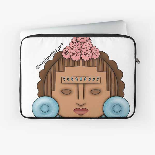Frida Xochipilli Laptop Sleeve