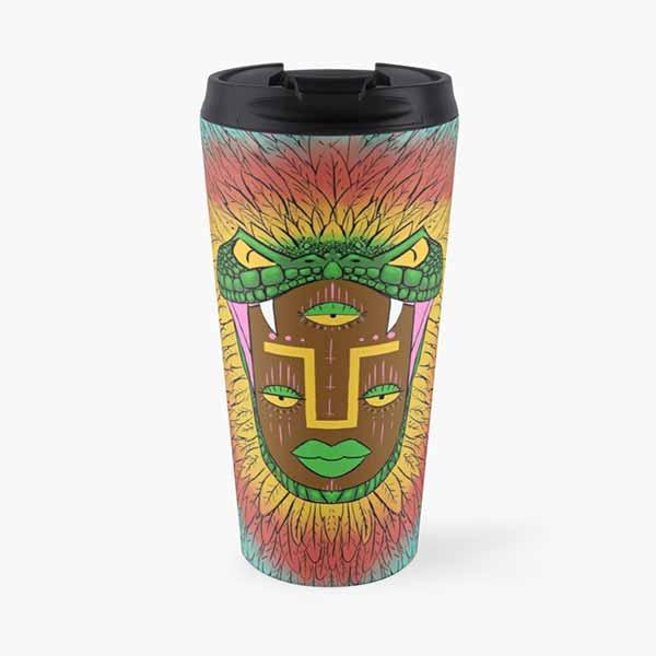 Third Eye Quetzalcoatl Travel Mug